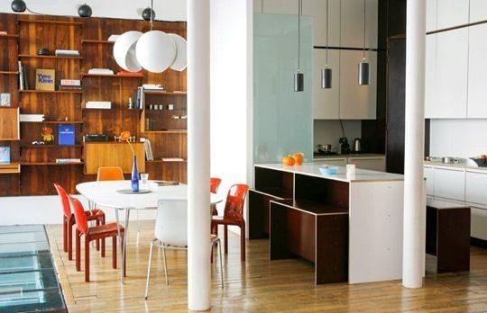 Ideas Practicas Para Cocinas Modernas - Cocinas-modernas-con-barra-americana