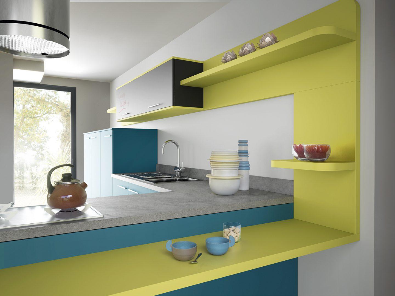 Galer a de im genes colores para la cocina for Colores para cocinas fotos