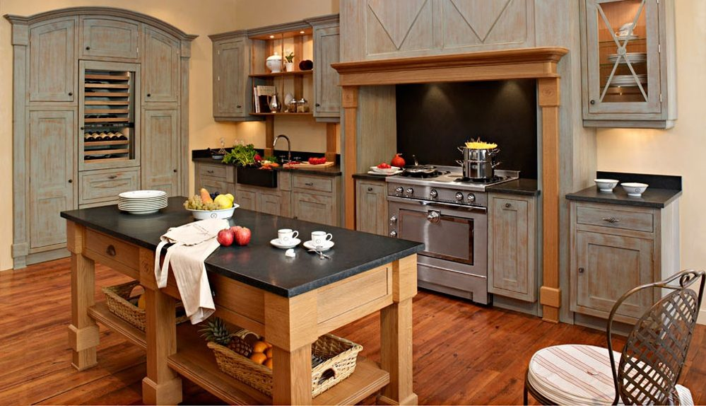 Galer a de im genes estilos de cocinas de madera - Estilos de cocinas ...