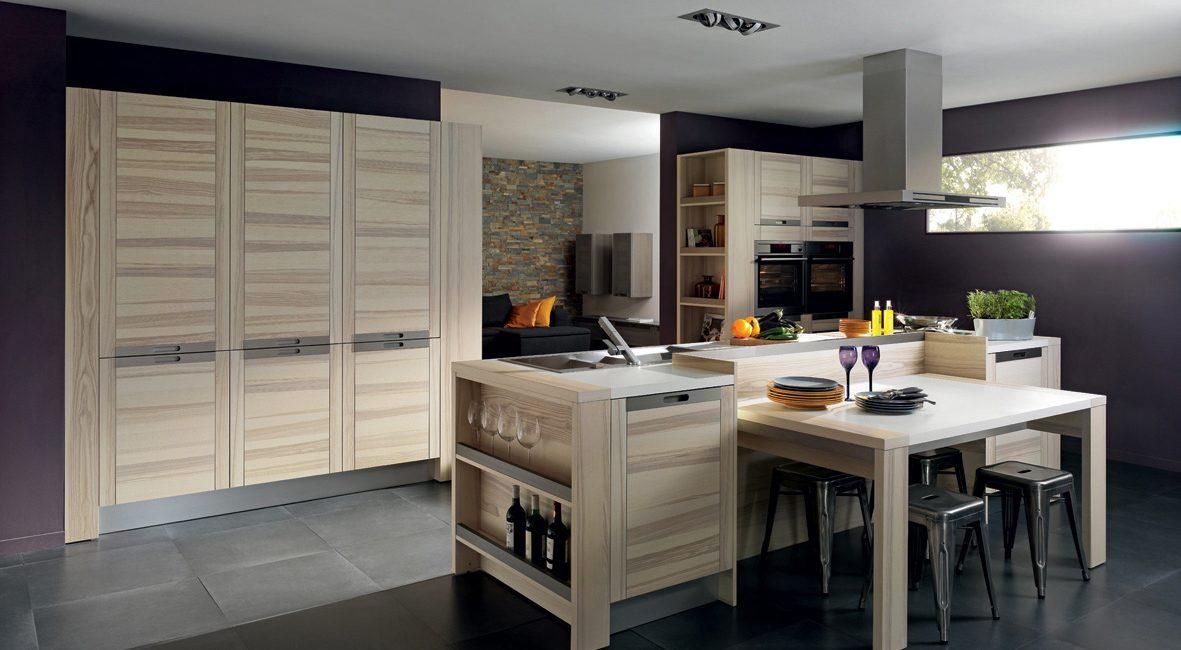 Galer a de im genes estilos de cocinas de madera - Cocinas de madera modernas ...