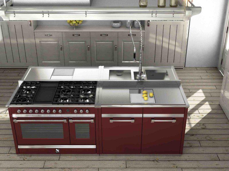 Cocina En Acero Inoxidable Industrial