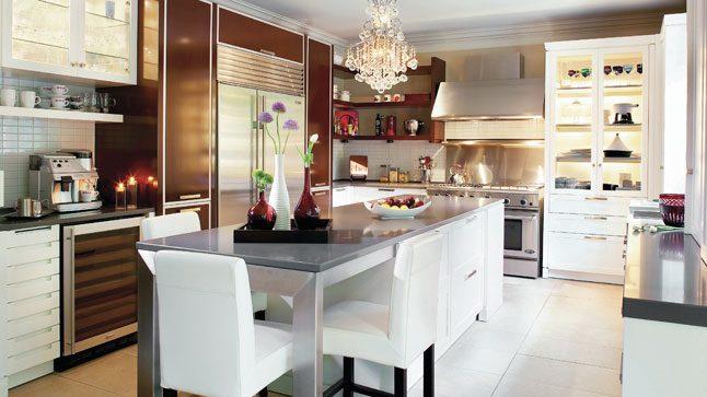 Cocina Moderna Elegante Imagenes Y Fotos - Cocinas-practicas-y-modernas
