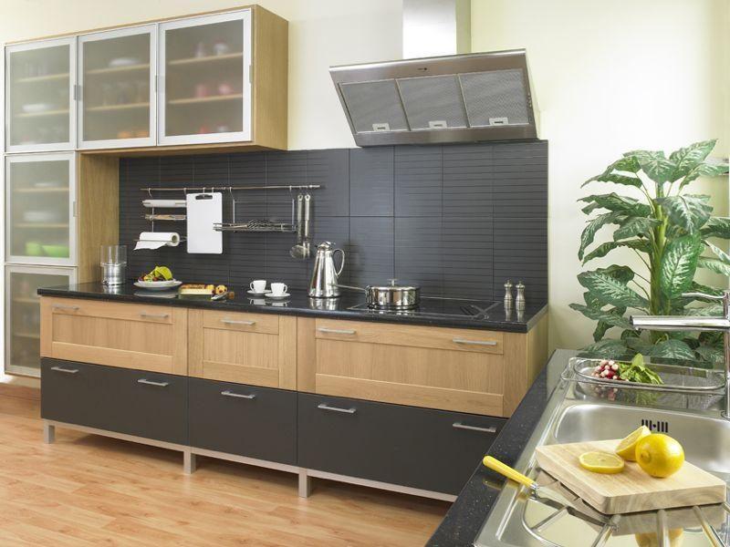 Madera y acero inoxidable en la cocina im genes y fotos Articulos de cocina de acero inoxidable