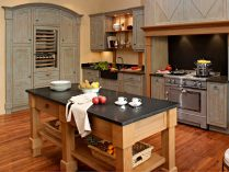 Estilos de cocinas de madera - Cocinas estilo ingles ...